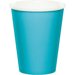 Bermuda Blue Party Cups - 8 Pack