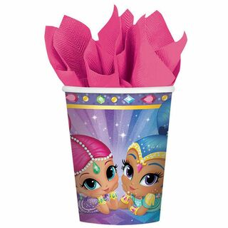 Shimmer and Shine Cups - 8 Pack