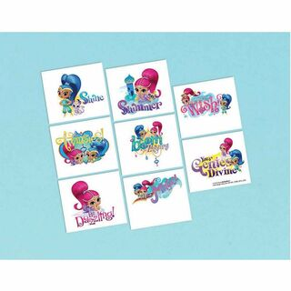 Shimmer and Shine Tattoos - 8 Pack