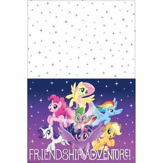 My Little Pony Friendship Adventure Table Cover - Single