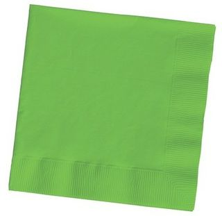 Lime Green Lunch Napkins - 20 Pack
