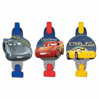 Disney Cars 3 Blowouts - 8 Pack