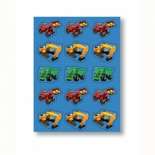 Under Construction Sticker Sheets -  4 Sheets