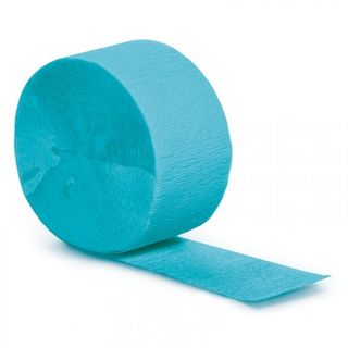 Streamer - Bermuda Blue Crepe