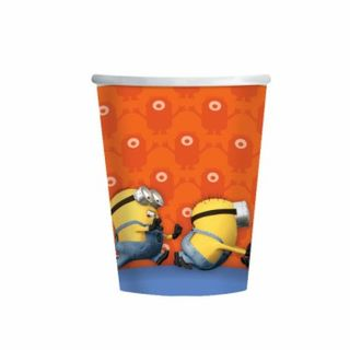 Minions Cups - 8 Pack