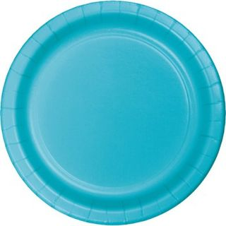 Bermuda Blue Party Plates - 8 Pack