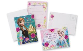 Disney Frozen Invitations - 8 Set