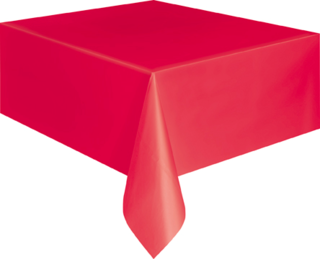 Table Cover - Red