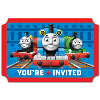 Thomas the Tank Engine Invitations 8pk