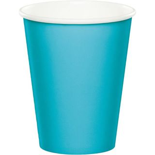 Party Cups -  Bermuda Blue - 8 Pack