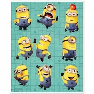Despicabke Me Stickers - 4 Sheets