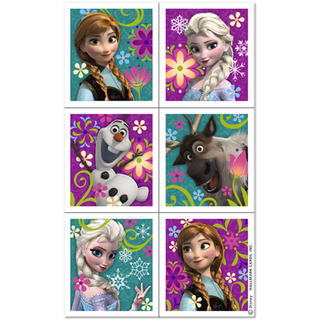 Disney Frozen Sticker Sheets - 4 Sheets