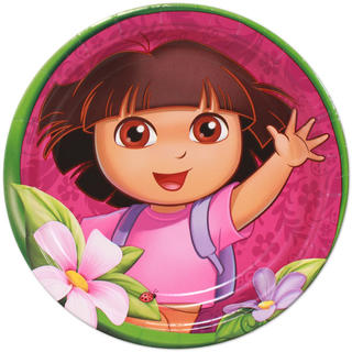 Dora the Explorer Dinner Plates