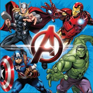 Avengers Lunch Napkins -  20 Pack
