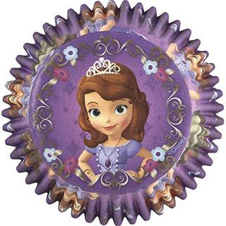 Sofia the First Baking Cups - 50 Pack