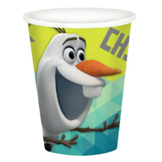 Frozen Fever Olaf Paper Cups - 8 Pack