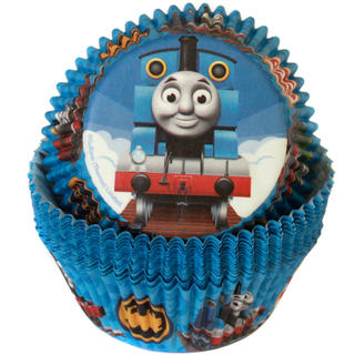 Thomas the Tank Engine Baking Cups - 50 Pack