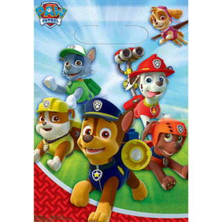 Paw Patrol Favour Loot bags - 8 Pack