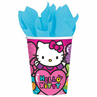 Hello Kitty Rainbow Cups