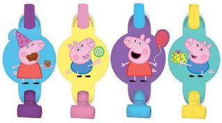 Peppa Pig Blowouts - 8 Pack