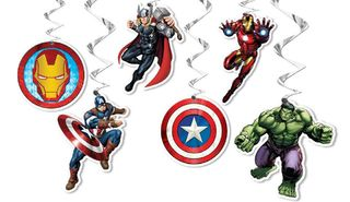 Avengers Hanging Swirls Decorations
