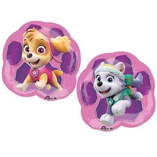 Paw Patrol Girls Super Shape Foil Balloon - Single