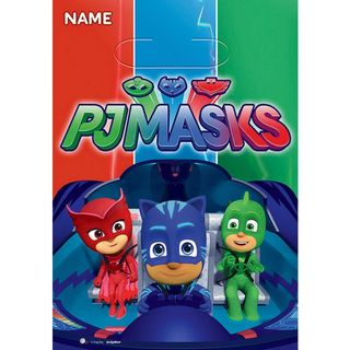 PJ Masks Favor Loot Bags - 8 Pack
