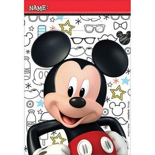 Mickey Mouse Favor Bags - 8 Pack
