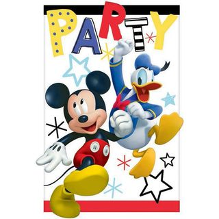 Disney Mickey Mouse Invites - 8 Pack