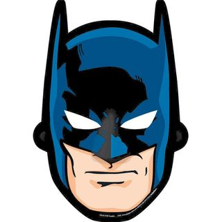 Batman Party Masks  - 8 Pack