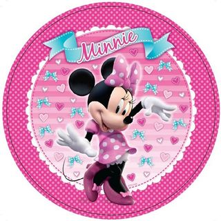 Minnie Mouse Dinner Plate - 8 Pack