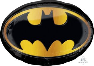 Batman Emblem Supershape Foil Balloon - Single