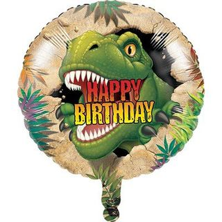 Dino Blast Foil Balloon - Single