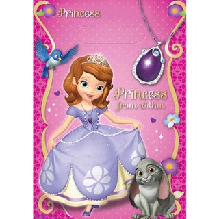 Sofia the First Loot Bags - 8 Pack