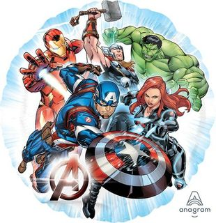 Avengers Foil Balloon - Single