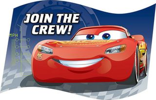 Disney Cars 3 Invitations - 8 Pack