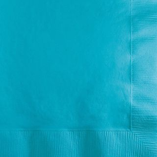 Bermuda Blue Lunch Napkins - 20 Pack