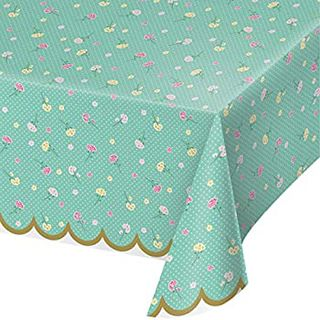 Floral Fairy Sparkle Table Cover