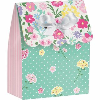 Floral Fairy Sparkle Loot Bag - 8 Pack