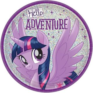 My Little Pony Friendship Adventures Lunch Plates - 17cm