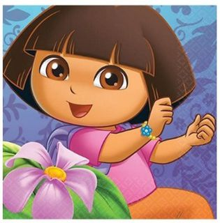 Dora the Explorer Napkins - 16 Pack