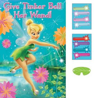 Tinker Bell Pixie Party Game