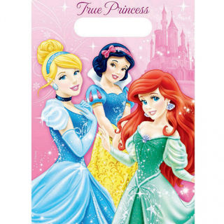 Disney Princess Loot Bags - 8 Pack