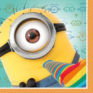 Despicable Me Napkins Beverage Napkins