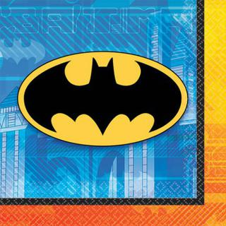 Batman Beverage Napkins - 16 Pack