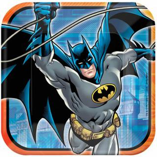 Batman Dinner Plates - 8 Pack