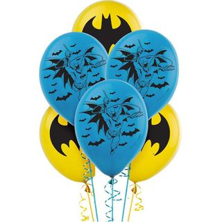 Batman Balloons - 6 Pack