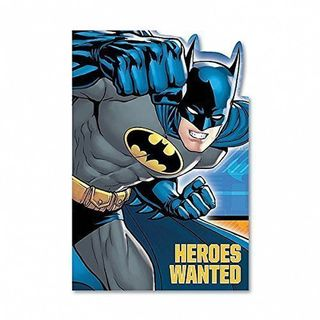 Batman Party Invites