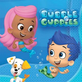 Bubble Guppies Napkins
