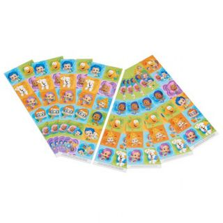 Bubble Guppie Stickers